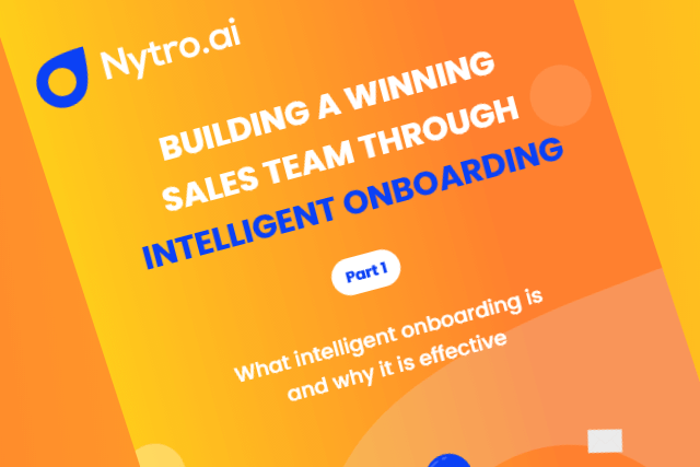 What intelligent onboarding is and why it is effective (Part 1)