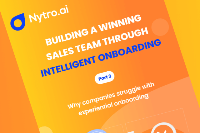 Why companies struggle with experiential onboarding (Part 3)